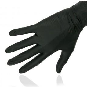 Rękawice nitrylowe rozmiar L